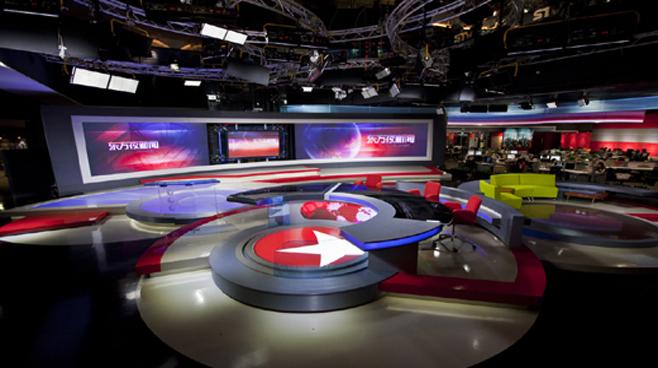 SMG - Shanghai - News Sets Set Design - 3