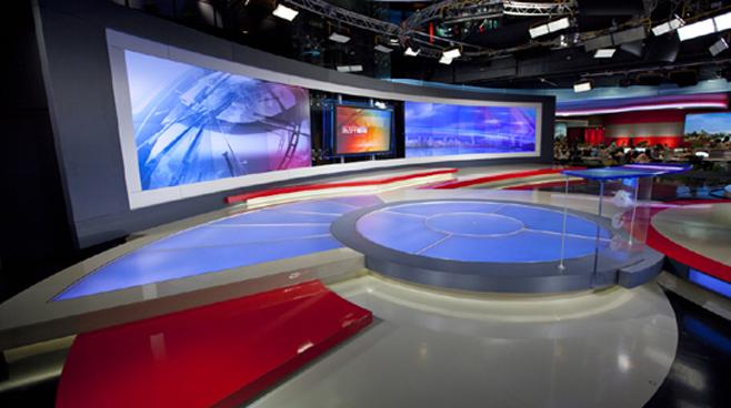 SMG - Shanghai - News Sets Set Design - 4