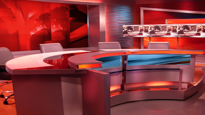 Network 18 -  - News Sets Set Design - 5