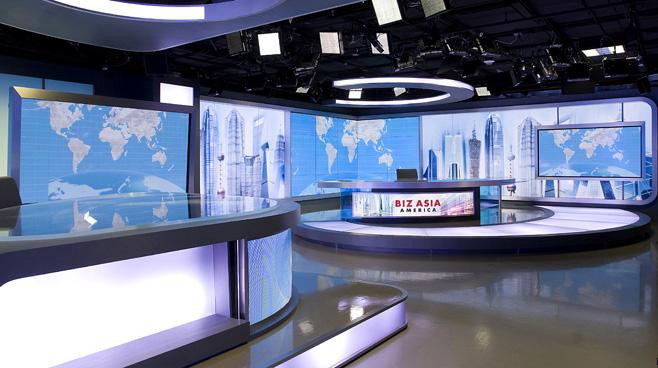CCTV - Washington. DC - News Sets Set Design - 4
