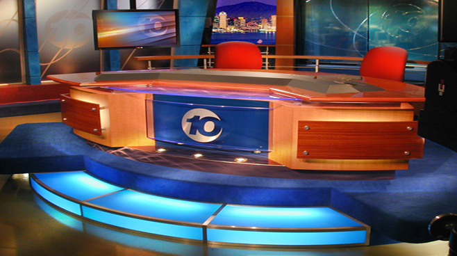 KGTV - San Diego - News Sets Set Design - 1