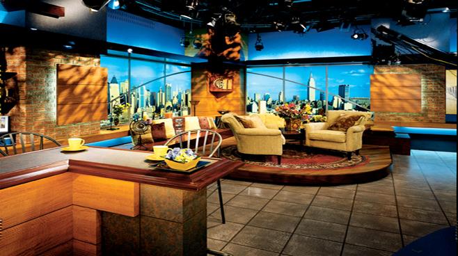 WPIX - New York - Talk Shows Set Design - 1