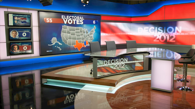 KSL - Salt Lake City, UT - News Sets Set Design - 2