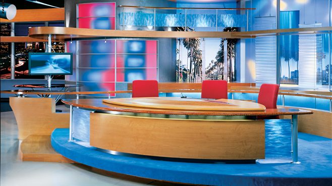 FOX Good Day LIve -  - Talk Shows Set Design - 1