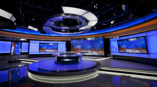Jiangsu TV -  Nanjing, China - News Sets Set Design - 1
