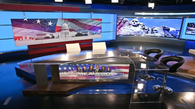 One America - National - News Sets Set Design - 1