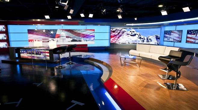 One America - National - News Sets Set Design - 6