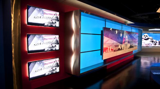 One America - National - News Sets Set Design - 8