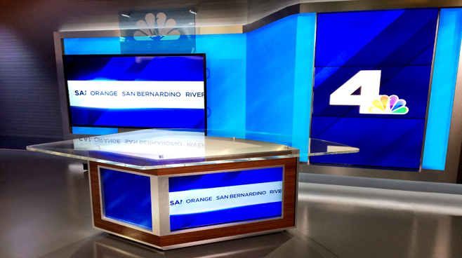 KNBC - LOS ANGELES, CA - News Sets Set Design - 8