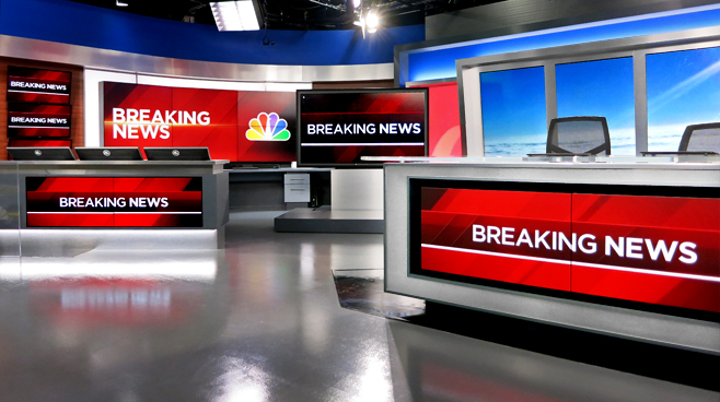 KNBC - LOS ANGELES, CA - News Sets Set Design - 1