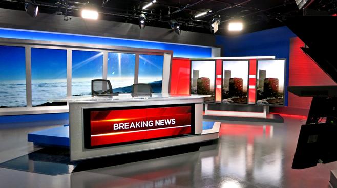 KNBC - LOS ANGELES, CA - News Sets Set Design - 3