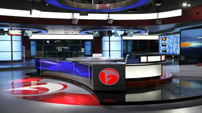 ANHUI TELEVISION - ANHUI - News Sets Set Design - 4