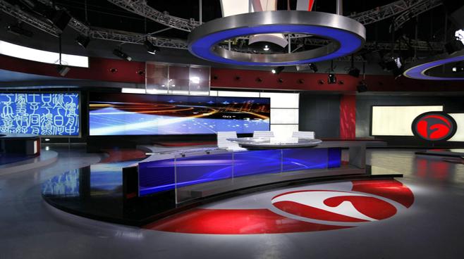 ANHUI TELEVISION - ANHUI - News Sets Set Design - 6
