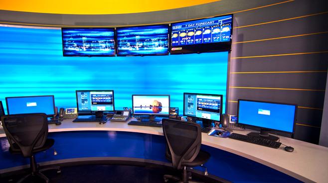 KPTV - PORTLAND, OR - News Sets Set Design - 8