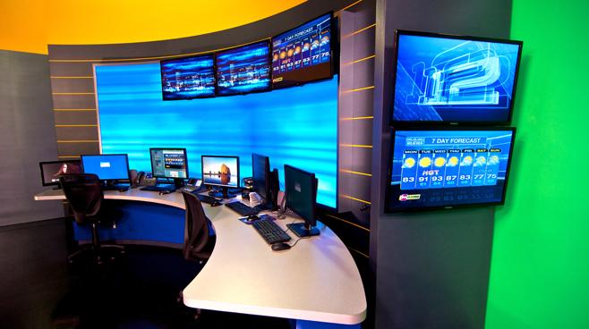 KPTV - PORTLAND, OR - News Sets Set Design - 7