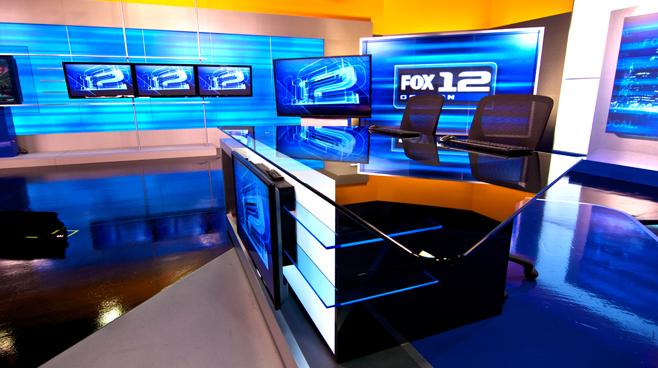 KPTV - PORTLAND, OR - News Sets Set Design - 3