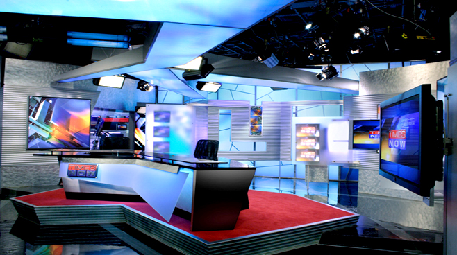 TIMES OF INDIA -  - News Sets Set Design - 2