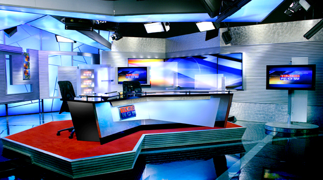TIMES OF INDIA -  - News Sets Set Design - 1