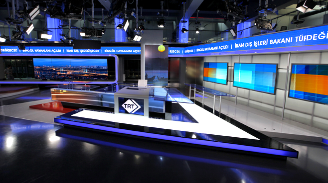 TRT - ANKARA - News Sets Set Design - 1