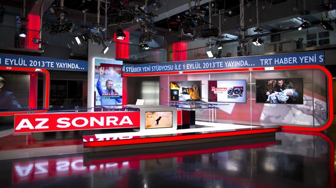 TRT - ANKARA - News Sets Set Design - 3