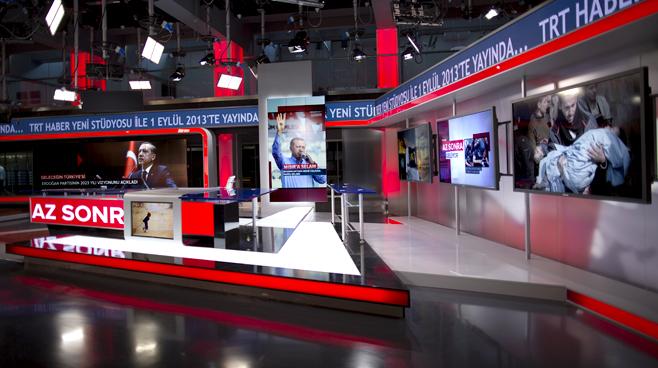 TRT - ANKARA - News Sets Set Design - 11