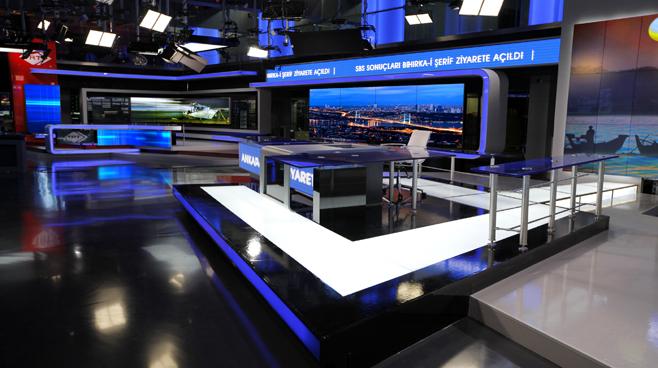 TRT - ANKARA - News Sets Set Design - 13