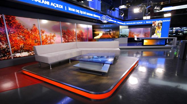 TRT - ANKARA - News Sets Set Design - 15