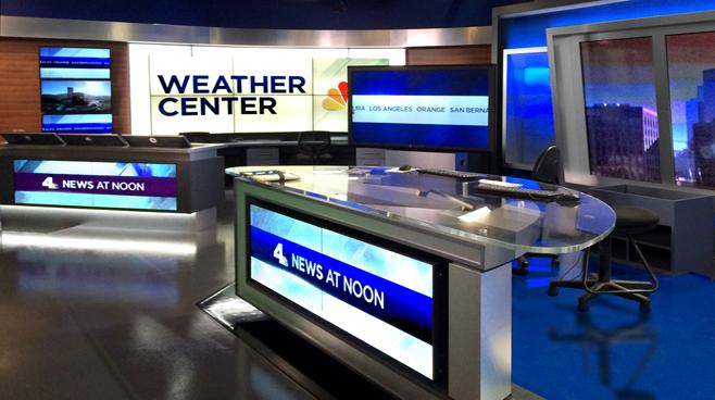 KNBC - LOS ANGELES, CA - News Sets Set Design - 4