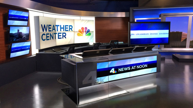 KNBC - LOS ANGELES, CA - News Sets Set Design - 6