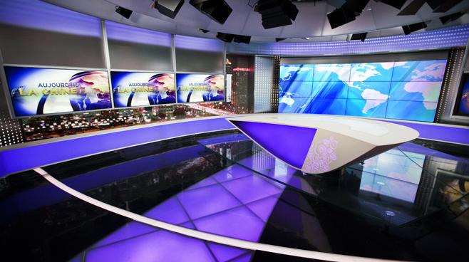 CCTV - BEIJING - News Sets Set Design - 7