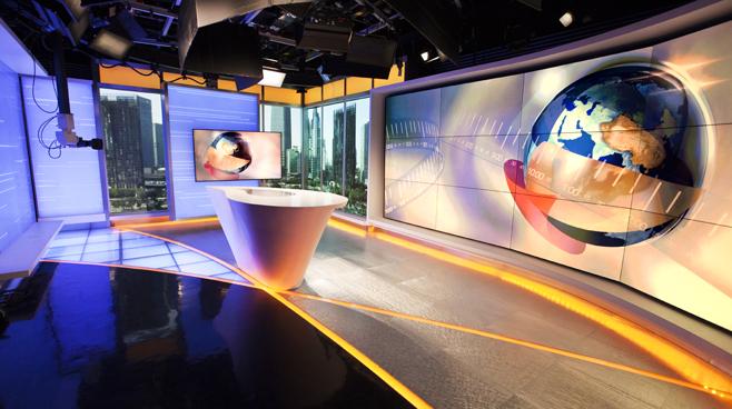 CCTV - BEIJING - News Sets Set Design - 3