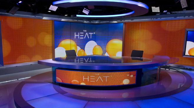 CCTV Washington DC - Washington DC - News Sets Set Design - 1