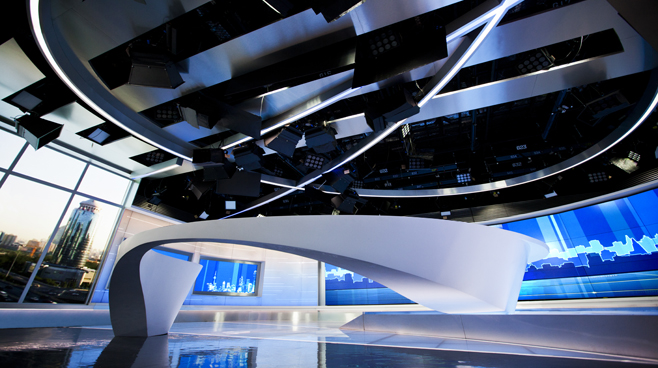 CCTV - BEIJING - News Sets Set Design - 5