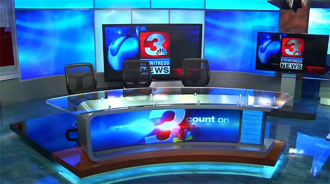 WRCB - CHATTANOOGA, TENNESSEE - News Sets Set Design - 1