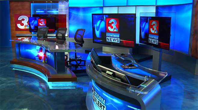 WRCB - CHATTANOOGA, TENNESSEE - News Sets Set Design - 5