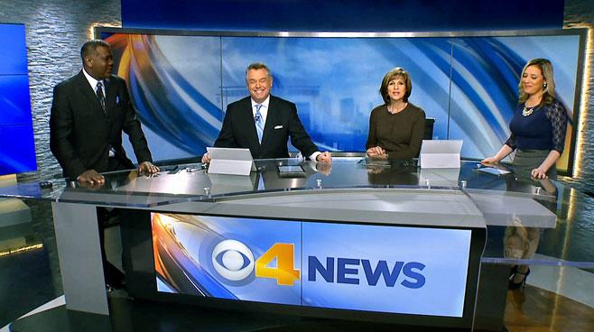 WTTV - INDIANAPOLIS, INDIANA - News Sets Set Design - 1