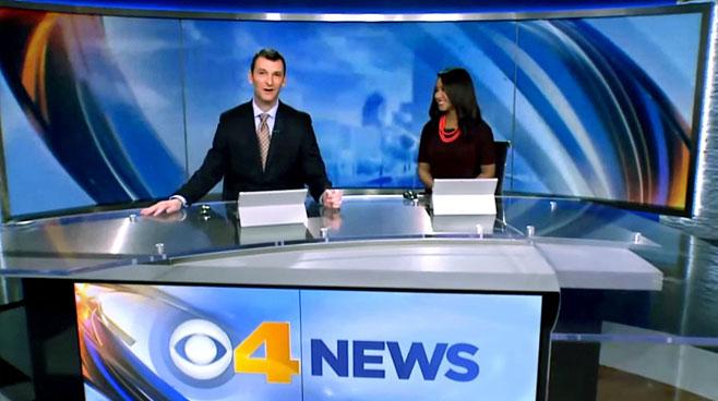 WTTV - INDIANAPOLIS, INDIANA - News Sets Set Design - 2