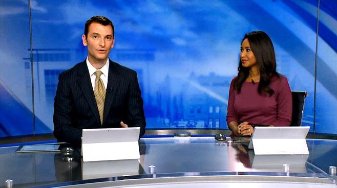 WTTV - INDIANAPOLIS, INDIANA - News Sets Set Design - 10