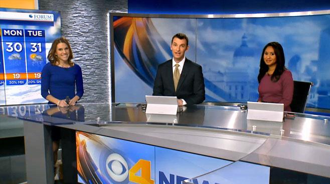 WTTV - INDIANAPOLIS, INDIANA - News Sets Set Design - 3