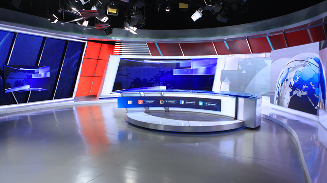 Kompas TV -  - News Sets Set Design - 4