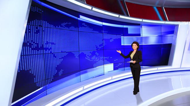 Kompas TV -  - News Sets Set Design - 5