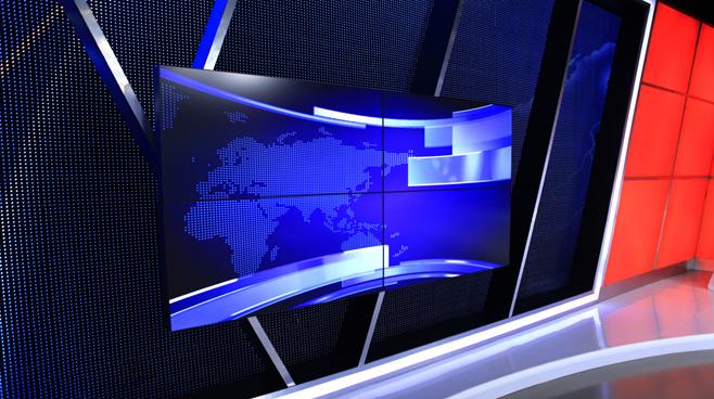 Kompas TV -  - News Sets Set Design - 6