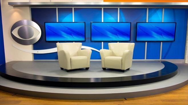 KFMB - San Diego, CA - News Sets Set Design - 6