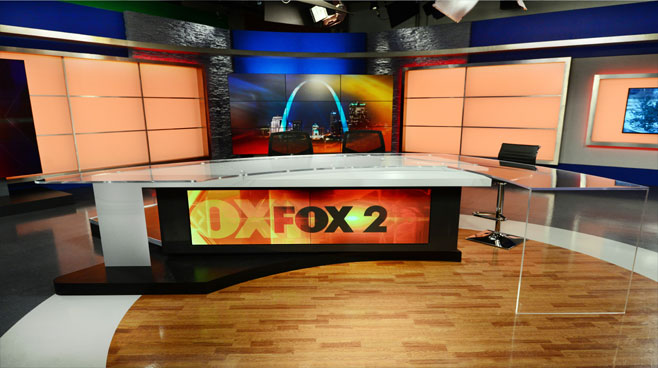 KTVI - St. Louis, MO - News Sets Set Design - 3