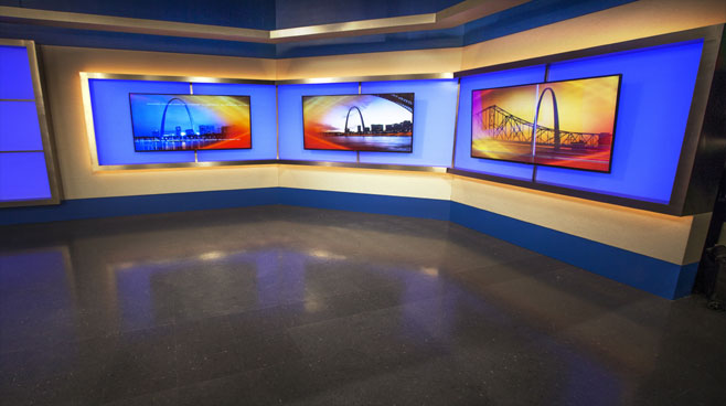 KTVI - St. Louis, MO - News Sets Set Design - 5