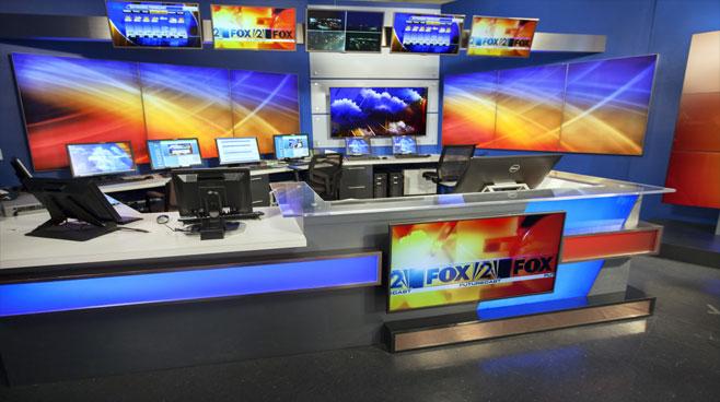 KTVI - St. Louis, MO - News Sets Set Design - 6