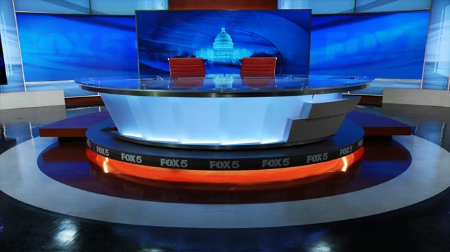 WTTG - Washington DC - News Sets Set Design - 2