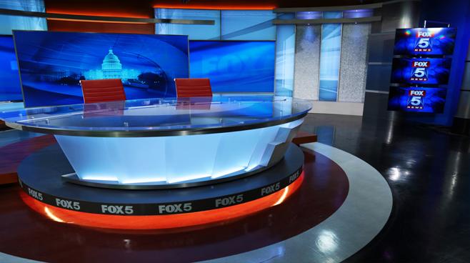 WTTG - Washington DC - News Sets Set Design - 3
