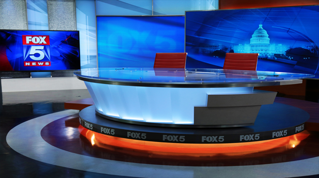WTTG - Washington DC - News Sets Set Design - 4