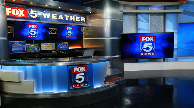 WTTG - Washington DC - News Sets Set Design - 5